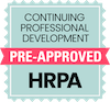 Continuing Professional Development: pre-approved by HRPA