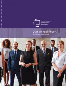 HRPA 2015 Annual report