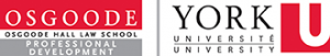 Osgoode Hall Law School Professional Development and York University Logos