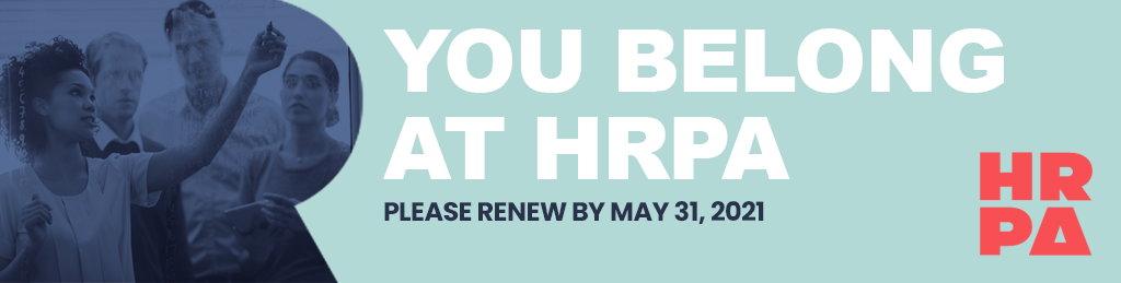 You Belong at HRPA