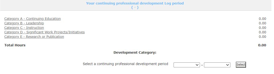 CPD Log