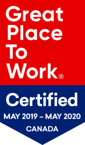 Great Place to Work 2019 banner