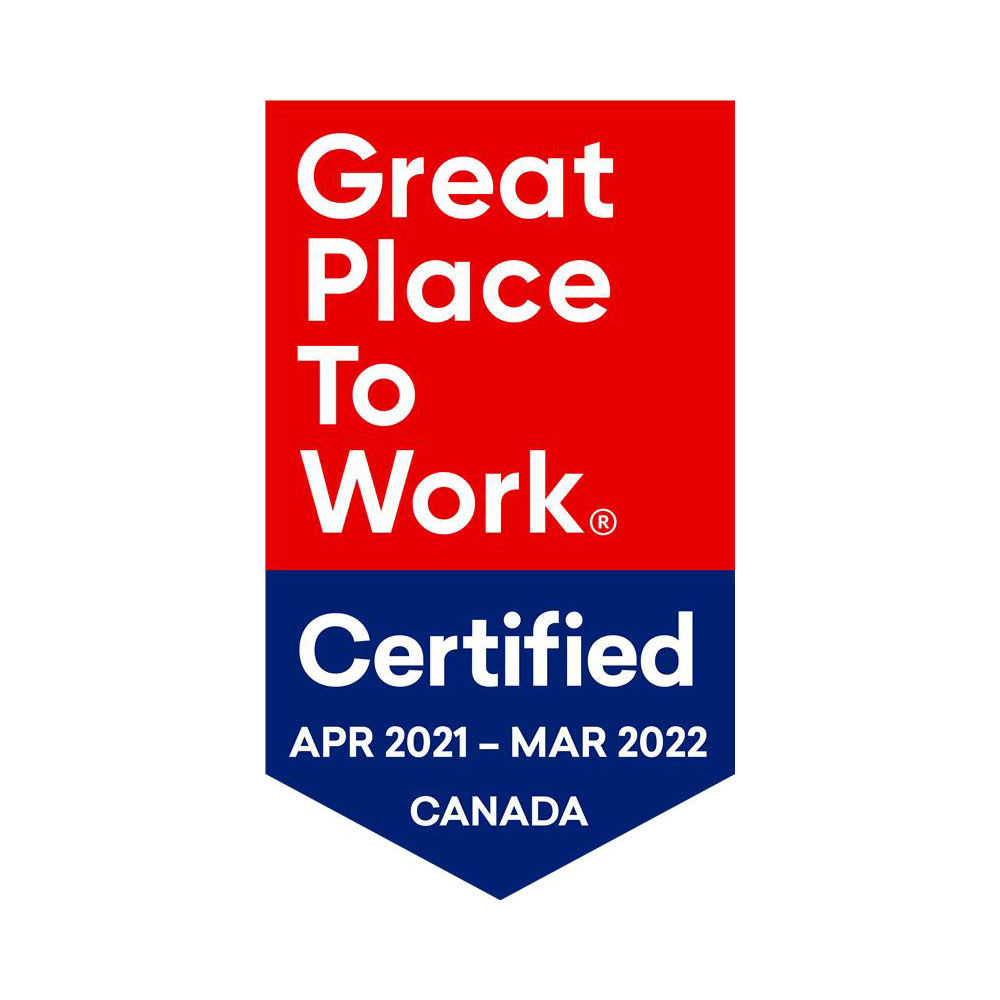Great Place to Work 2021 banner