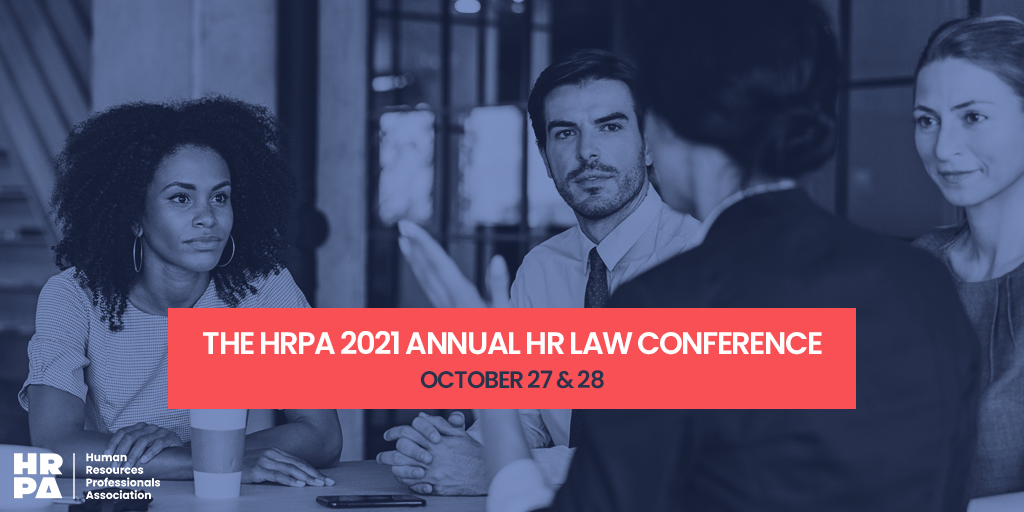 HRPA 2021 Annual HR Law Conference